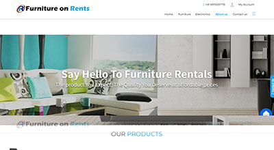Furniture On Rents